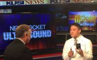 Scripps Health  San Diego Physician, Paul Han MD discusses the pocket ultrasound training program on KUSI TV