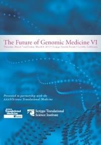 Future of Genomic Medicine 2013 brochure image