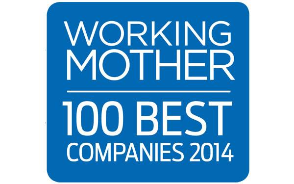 2014 Working Mother Award_600 x 375