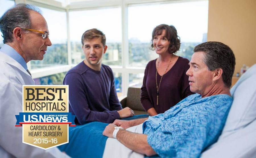 Scripps Health was ranked the best hospital for heart care and heart surgery in San Diego by U.S. News & World Report in 2015.