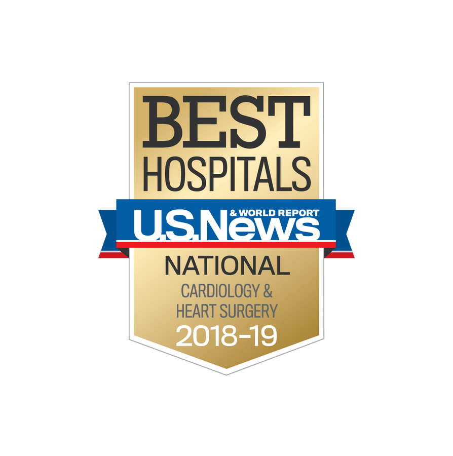 U.S. News Best Hospitals for Cardiology & Heart Surgery
