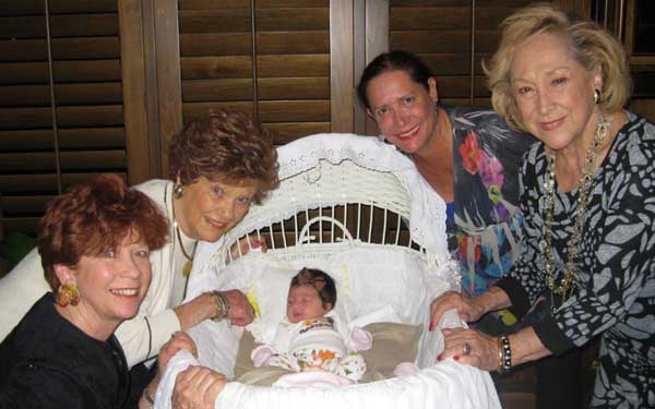 Grandmothers with grand baby