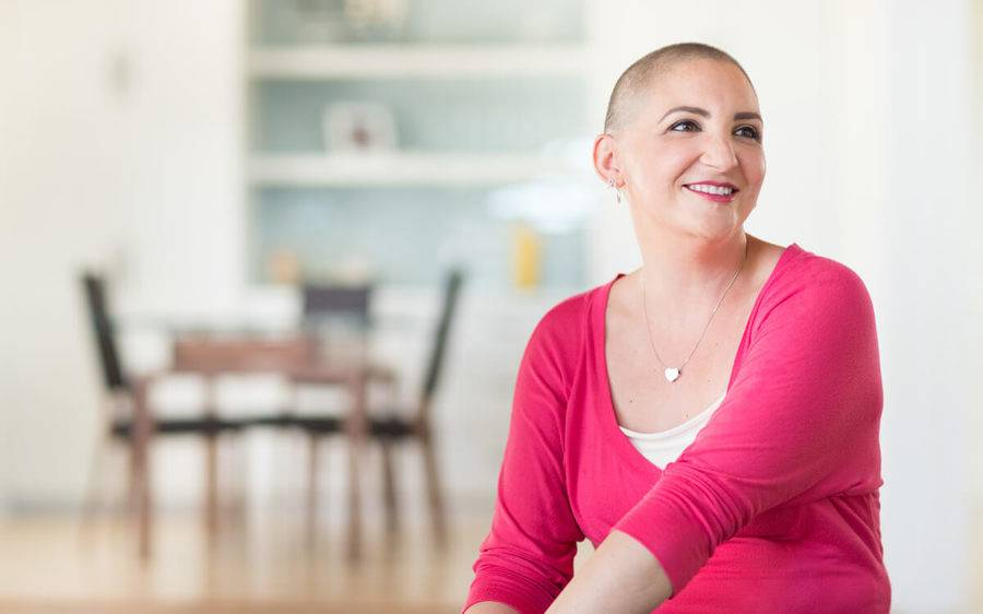 Breast cancer survivor Chelsea Beaumonte