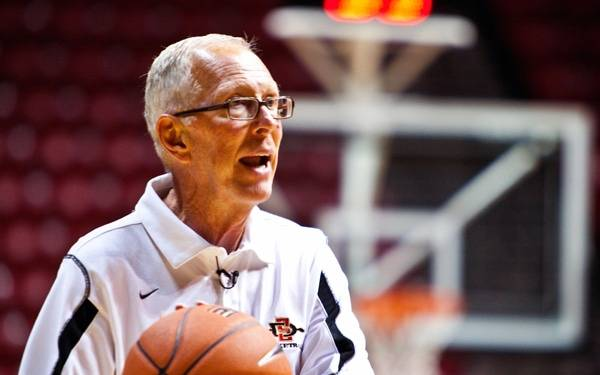 San Diego State basketball coach Steve Fisher urges everyone to keep close tabs on their health scores.