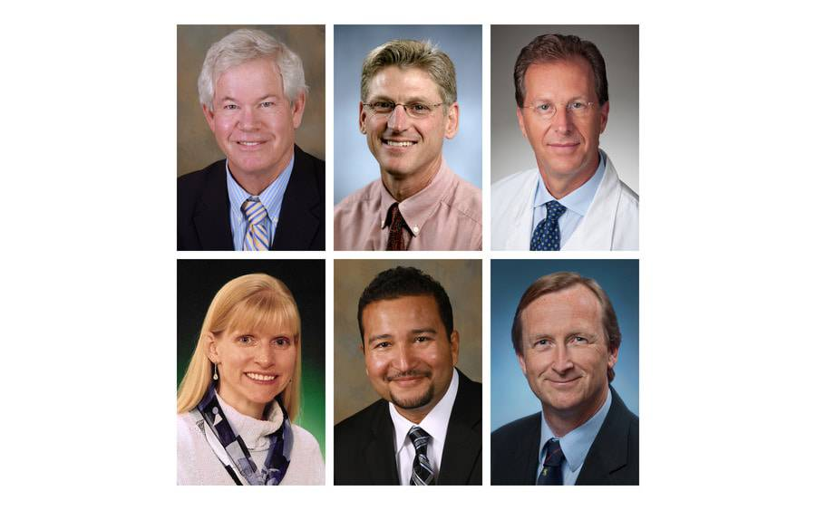 Six Scripps physicians are new physician operations executives at hospital campuses in San Diego County.