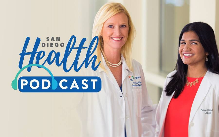 Christina Adams, MD, Poulina Uddin, MD, cardiologists.