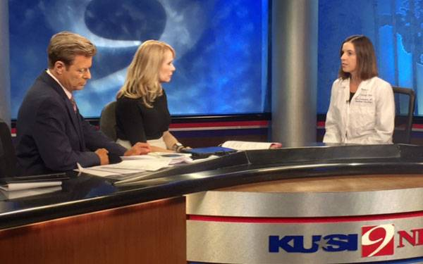 Dr. Carrie Costantini of Scripps Health, San DIego, on KUSI