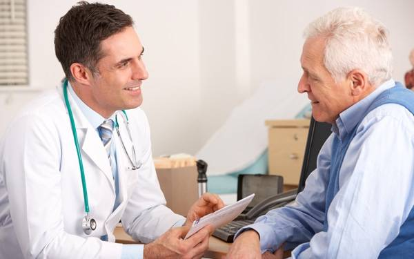 Doctor and patient 600 x 375