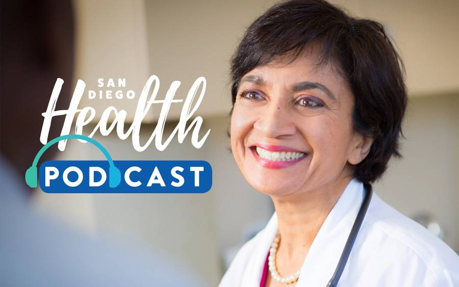 Dolly Doctor, MD, internal medicine, discusses benefits of plant-based diets in this podcast episode of San Diego Health.
