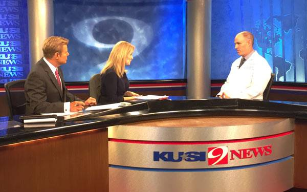 Dr. Cronin of Scripps Health San Diego, on KUSI