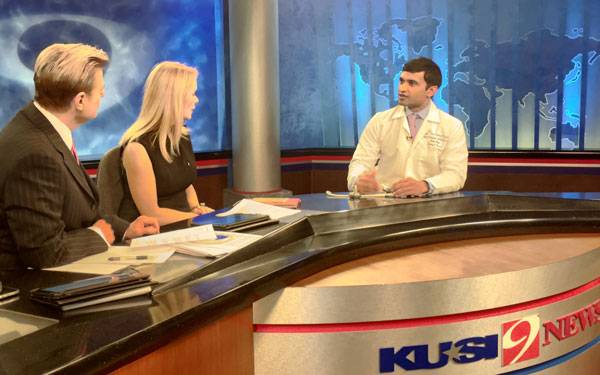 Scripps Health, San Diego Cardiologist, Dr. Srivastava, Discusses Life Saving Heart Pump on KUSI.