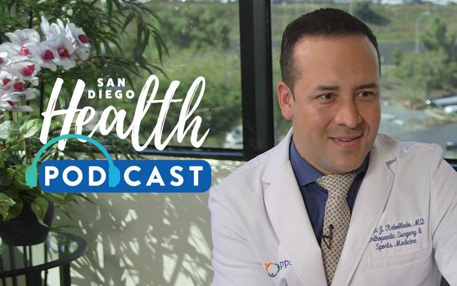 Brian Rebolledo, MD, orthopedic surgeon, discusses hip arthroscopy.