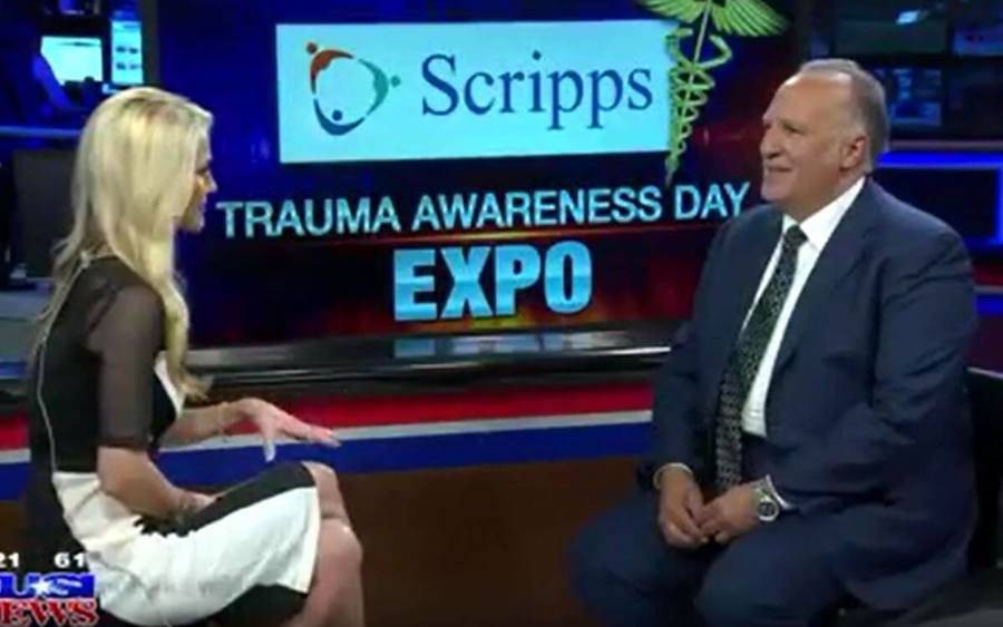 Imad Dandan, MD, discusses how to prevent trauma injuries on KUSI.