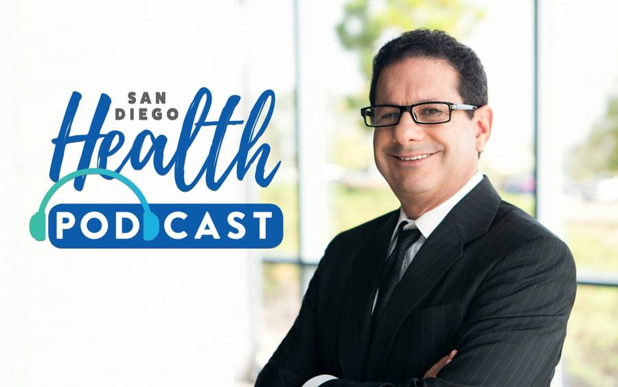 Dr. Paul Teirstein, an interventional cardiologist at Scripps Clinic, discusses TAVR heart valve replacement procedure in San Diego Health podcast episode.
