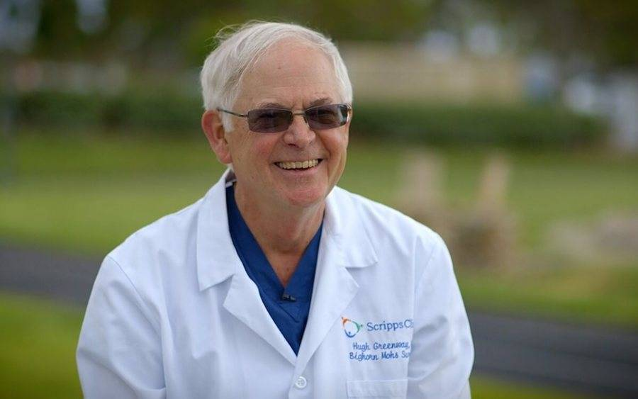 Hugh Greenway, MD, chairman of Mohs and dermatologic surgery at Scripps Clinic, discusses skin cancer treatment.
