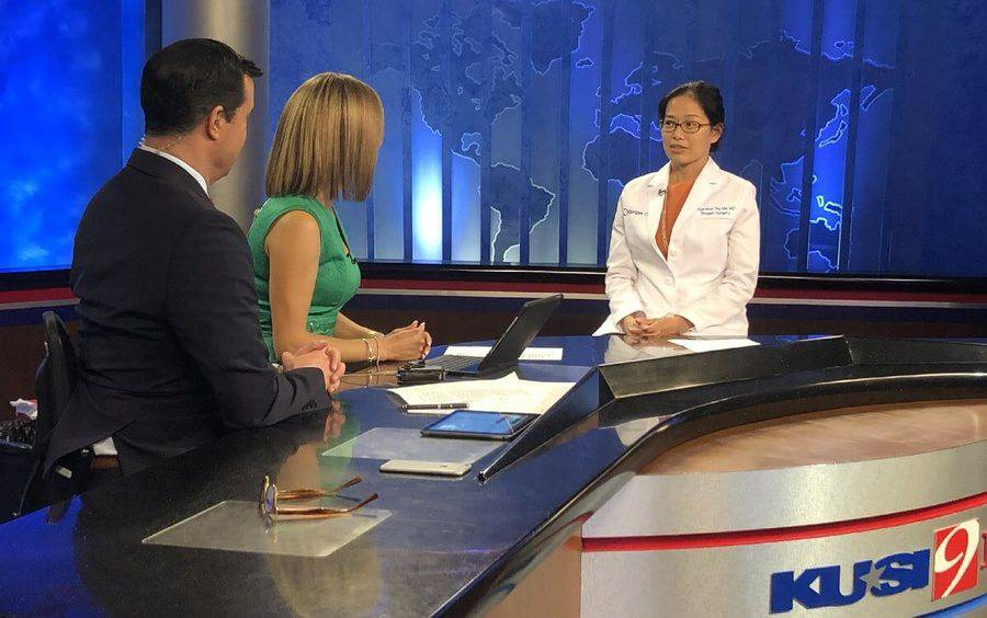 A Scripps MD Anderson Cancer Center breast cancer surgeon talks about proposed mammography guidelines on the news.