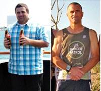 Bariatric Surgery Before and After Eric Swanson 1