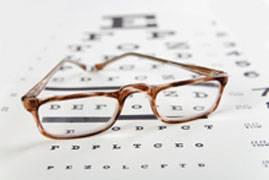 Clinic eye chart