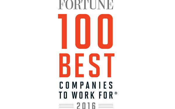 Fortune 100 Best Companies to Work For 2016