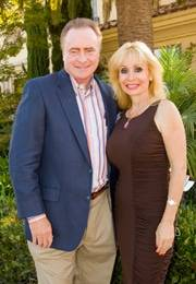 Fred & Laura Applegate hosted the 2010 Circle of Life 100 Celebration: Wine, Women & Shoes at their Rancho Santa Fe estate, which helped raise more than $100,000.