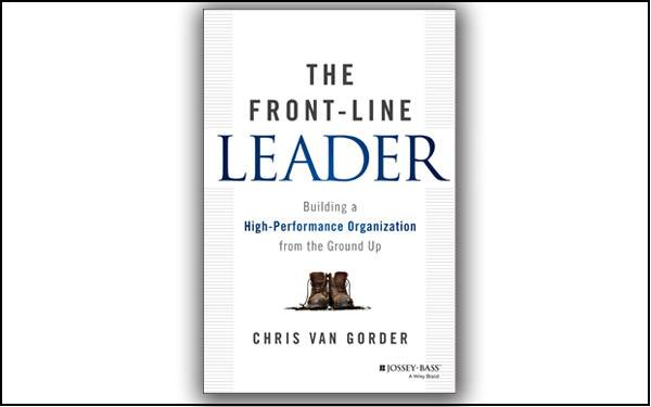 """The Front-Line Leader"" book by Chris Van Gorder, CEO of Scripps Health in San Diego, California, is now available.  Notable book reviews were received on Chris' philosophy of putting people first, his management tips,  and how he successfully implemented what he learned to build strong relationships and a strong organization."