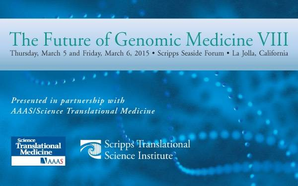PR Event graphic STSI Genomic Medicine 600x375
