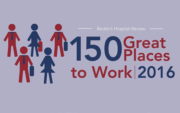 Scripps Health San Diego, Makes the Top 150 Great Place to Work List.