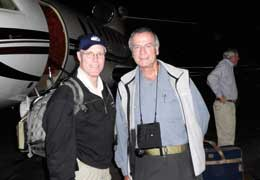 Haiti - CVG and Eastman boarding plane