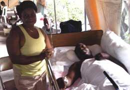 Haiti - patient Serge