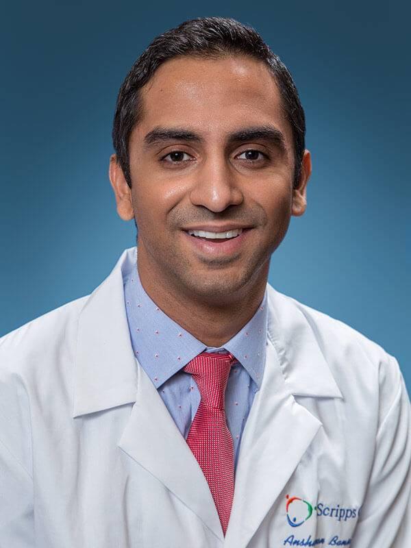 Dr. Anshuman Bansal - Interventional Radiologist - Scripps Health