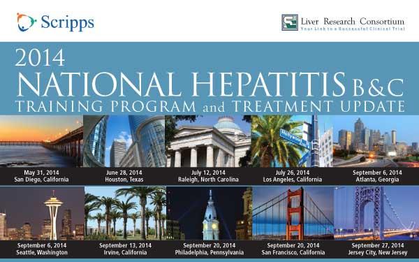 Hepatitis B & C Training Program and Treatment Update Brochure Image 2014
