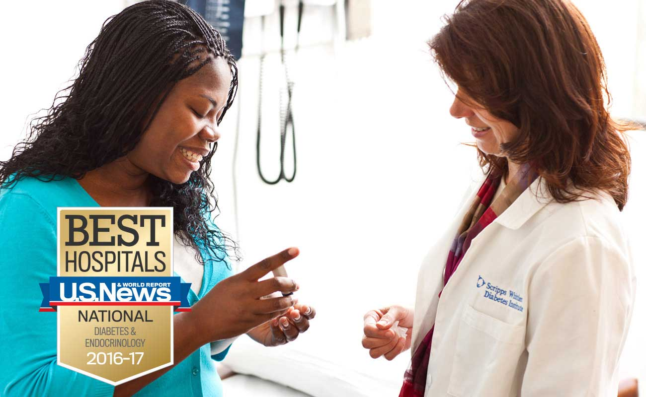 Ranked one of the best by U.S. News and World Report, Scripps Health offers comprehensive diabetes care and prevention in San Diego.