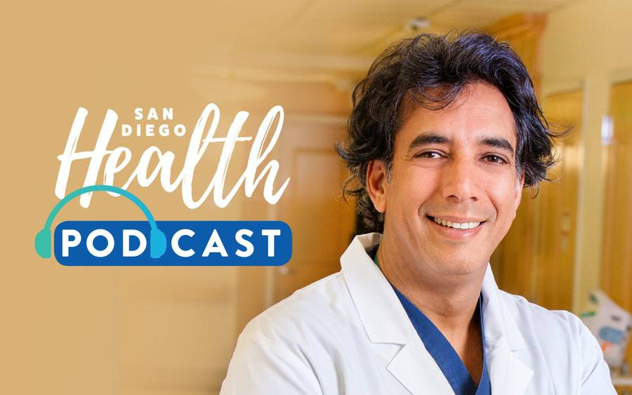 Dr. Sharam Daneshmand, OB-GYN, featured in podcast on high-risk pregnancies.
