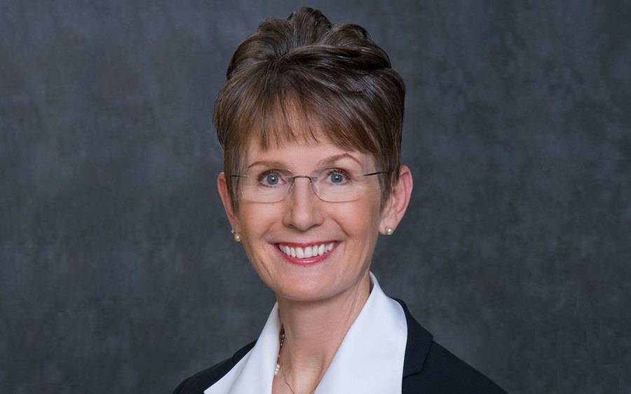 A photo of Jan Caldwell, the new chairman of the Scripps Health Board of Trustees,