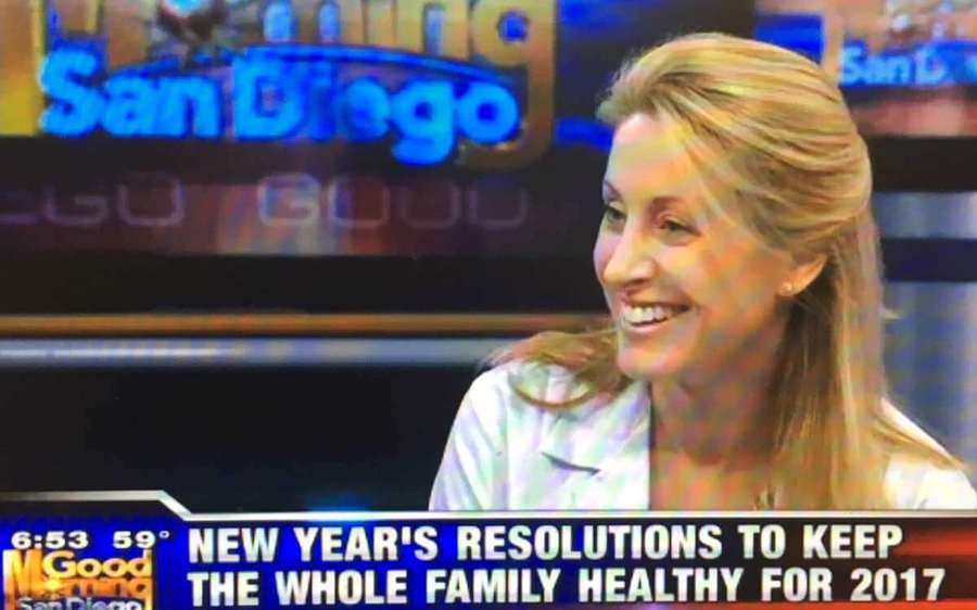 Jenny Davis, MD, a Scripps pediatrician, discusses healthy holiday foods and activities on KUSI.