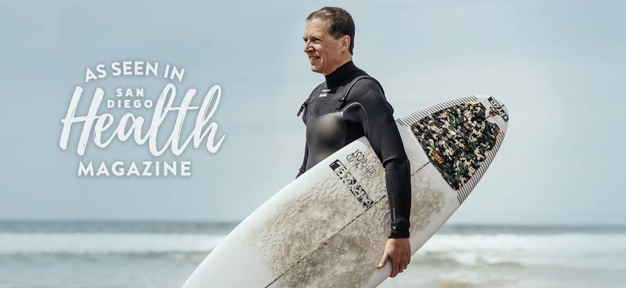 Lean how surfing orthopedic surgeon Timothy Peppers, MD, sees the waves as his fountain of youth.