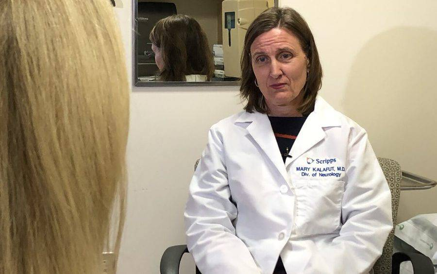 Dr. Mary Kalafut, a neurologist at Scripps Clinic, discusses stroke with Fox 5.