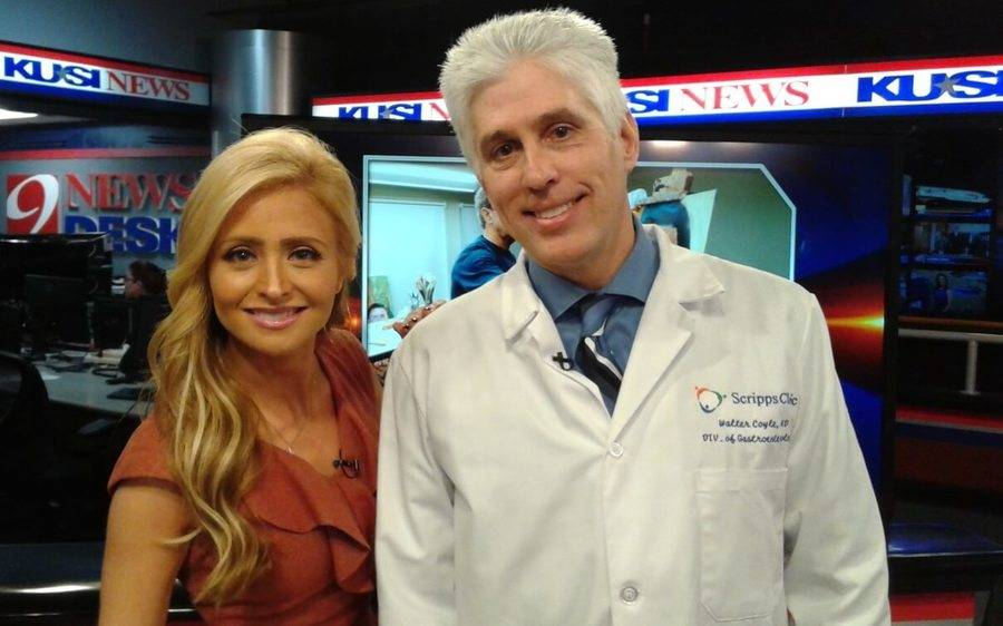 A Scripps doctor and a KUSI TV news anchor talk about recent colorectal cancer findings published in a study.