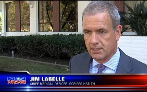 Scripps Health Chief Medical Officer, Jim Labelle, provided to local news how Scripps Health has boosted training and adopted protective equipment. Scripps is exceeding CDC recommendations.