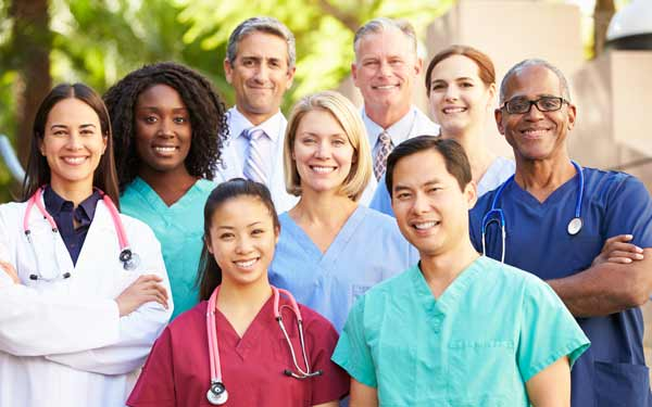 PR Page generic group Medical-professionals outside-600x375