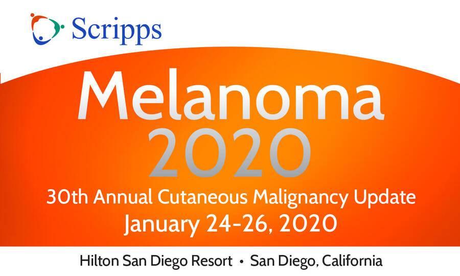 San Diego Calendar Of Events January 2020 Melanoma CME Conference   San Diego   Scripps Health