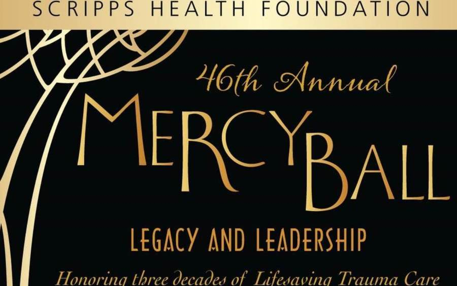 Mercy Ball to benefit trauma care at Scripps Mercy, March 10