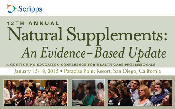 Natural Supplements Save the Date Image 2015 600 by 375