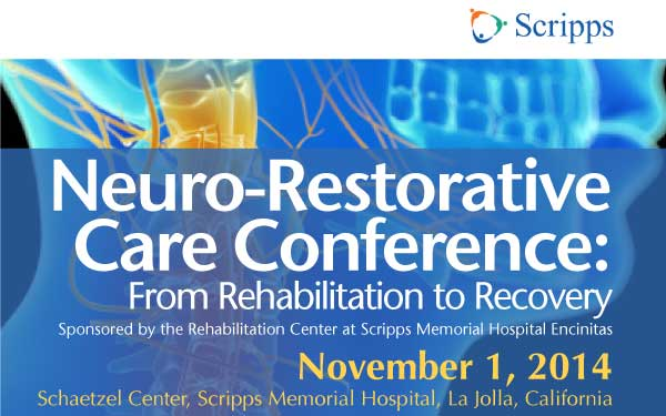 Neuro-Restorative Care Conference Brochure Image 2014 600 by 375