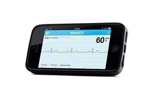 Food and Drug Administration's recent clearance of the AliveCor smartphone ECG device for detecting atrial fibrillation. What mobile health (mHealth) technology will become ubiquitous over the next five years?