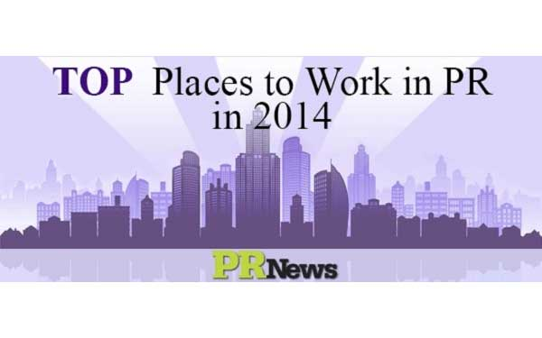 Scripps Health was recognized by PR News as one of 2014 Top Places to Work in Public Relations (PR).