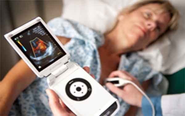 "Scripps study validates pocket ultrasound device that enables a physician to ""look"" at a patient's heart."