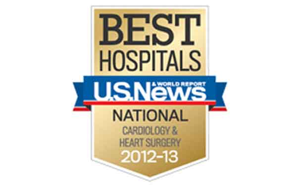 Scripps received recognition for their cardiology programs.