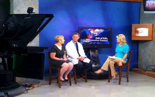 Scripps Clinic kidney transplant specialist, Dr. James Rice, answered questions during a live in-studio interview with San Diego 6 News.