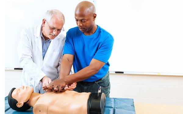 Cardiologist, Dr. Douglas Gibson, from Scripps Clinic discusses how CPR can be the difference between life and death for somebody .